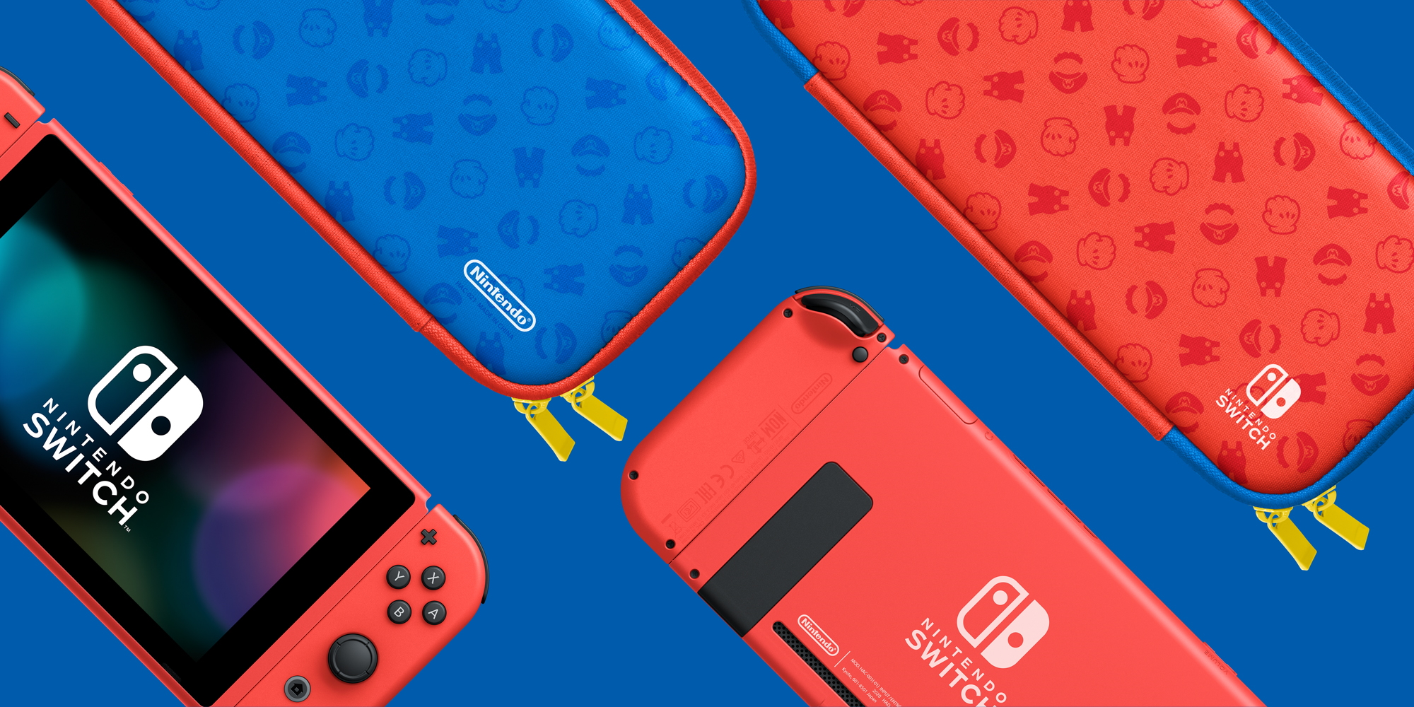 A new Mario Red & Blue Nintendo Switch is coming in February