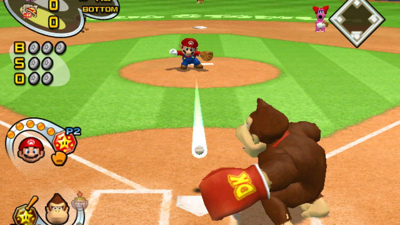 Mario Superstar Baseball (Gamecube, 2005)