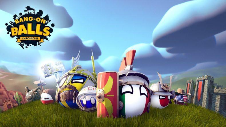A screenshot of Bang-on Balls: Chronicles