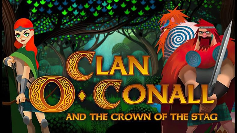 Clan O'Conall and the Crown of the Stag title image