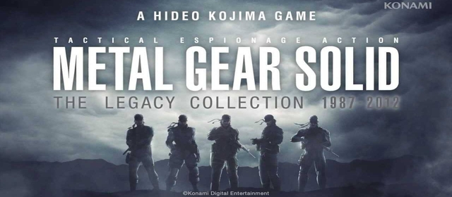 Metal Gear Solid Legacy Collection Coming To Europe