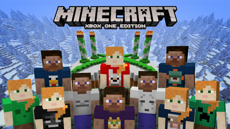 Minecraft 4th birthday skin pack is now available on xbox