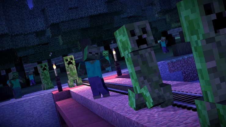 minecraft story mode creepers