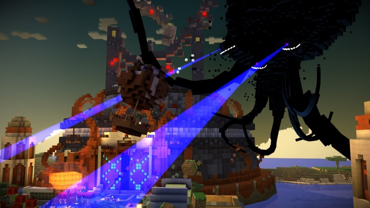 minecraft story mode episode 2 screenshot