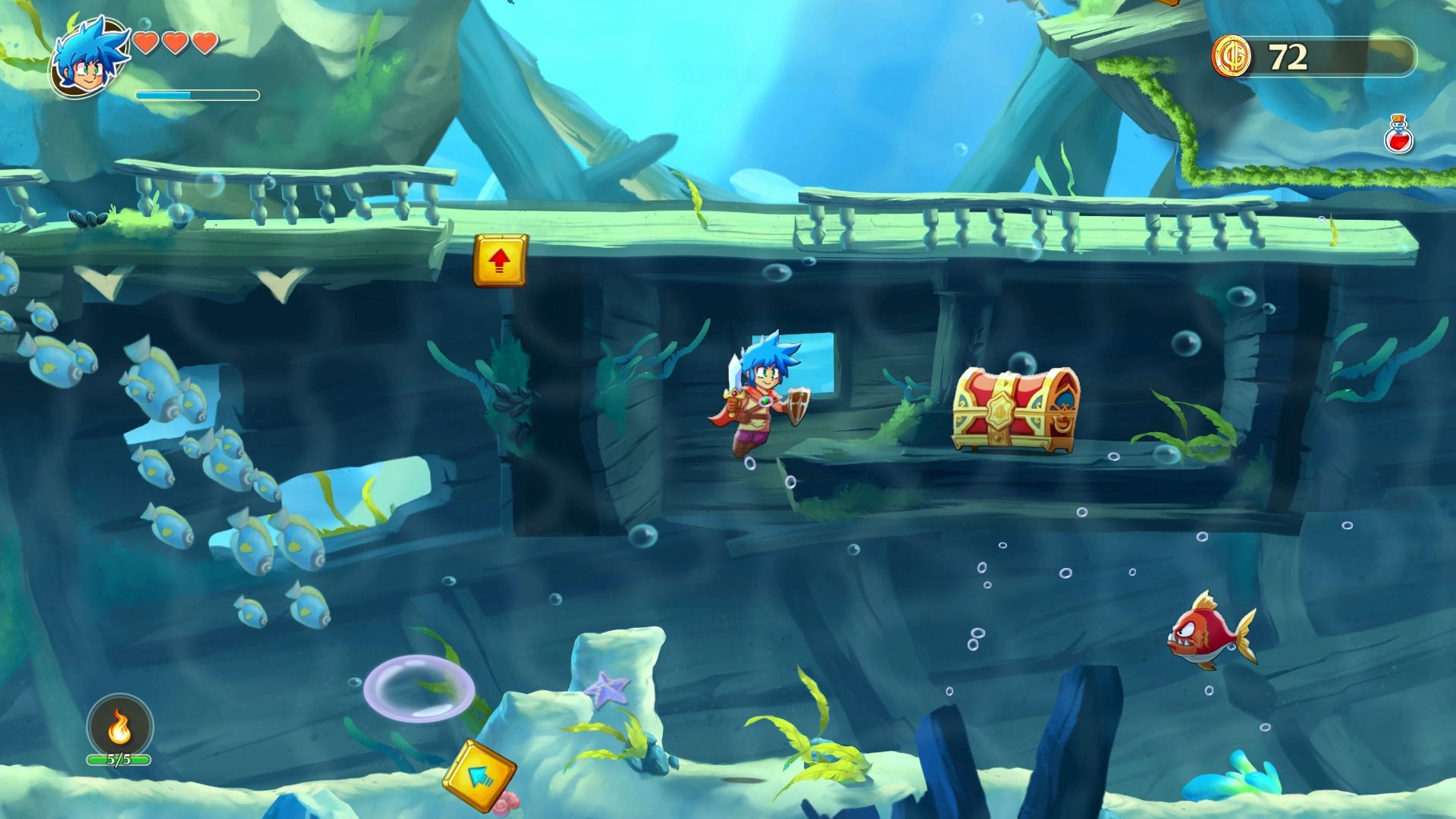 Monster Boy and the Cursed Kingdom review - GodisaGeek com