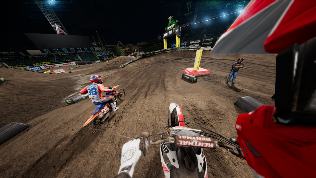 There Is Plenty Of Content In Monster Energy Supercross (the Name Just  Rolls Right Off The Tongue, Doesnu0027t It?), From The Lengthy Career Mode To  Exhibitions ...