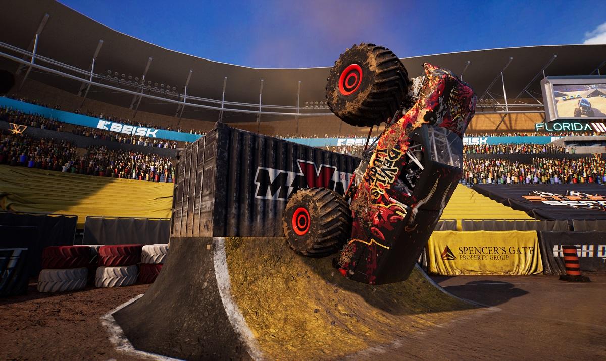 Monster Truck Championship flip