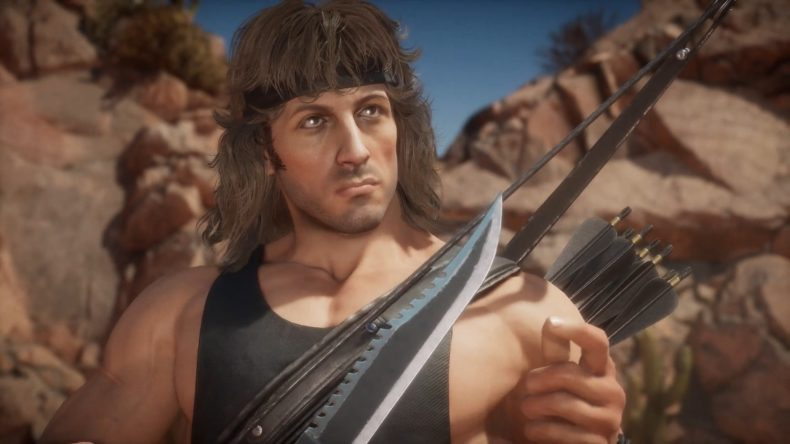 New trailer for Rambo joining MK11