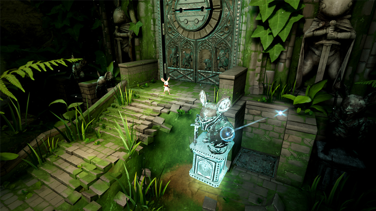 Moss Unveiled For Playstation Vr From Polyarc