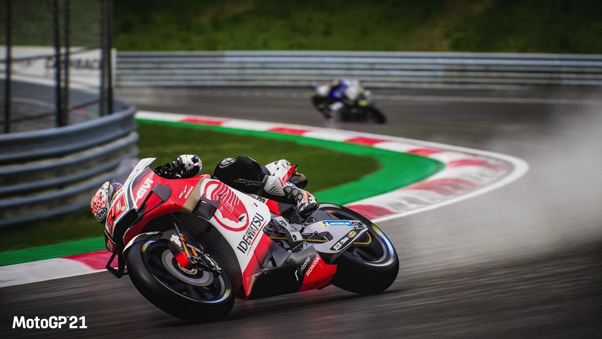 MotoGP 21 track corner