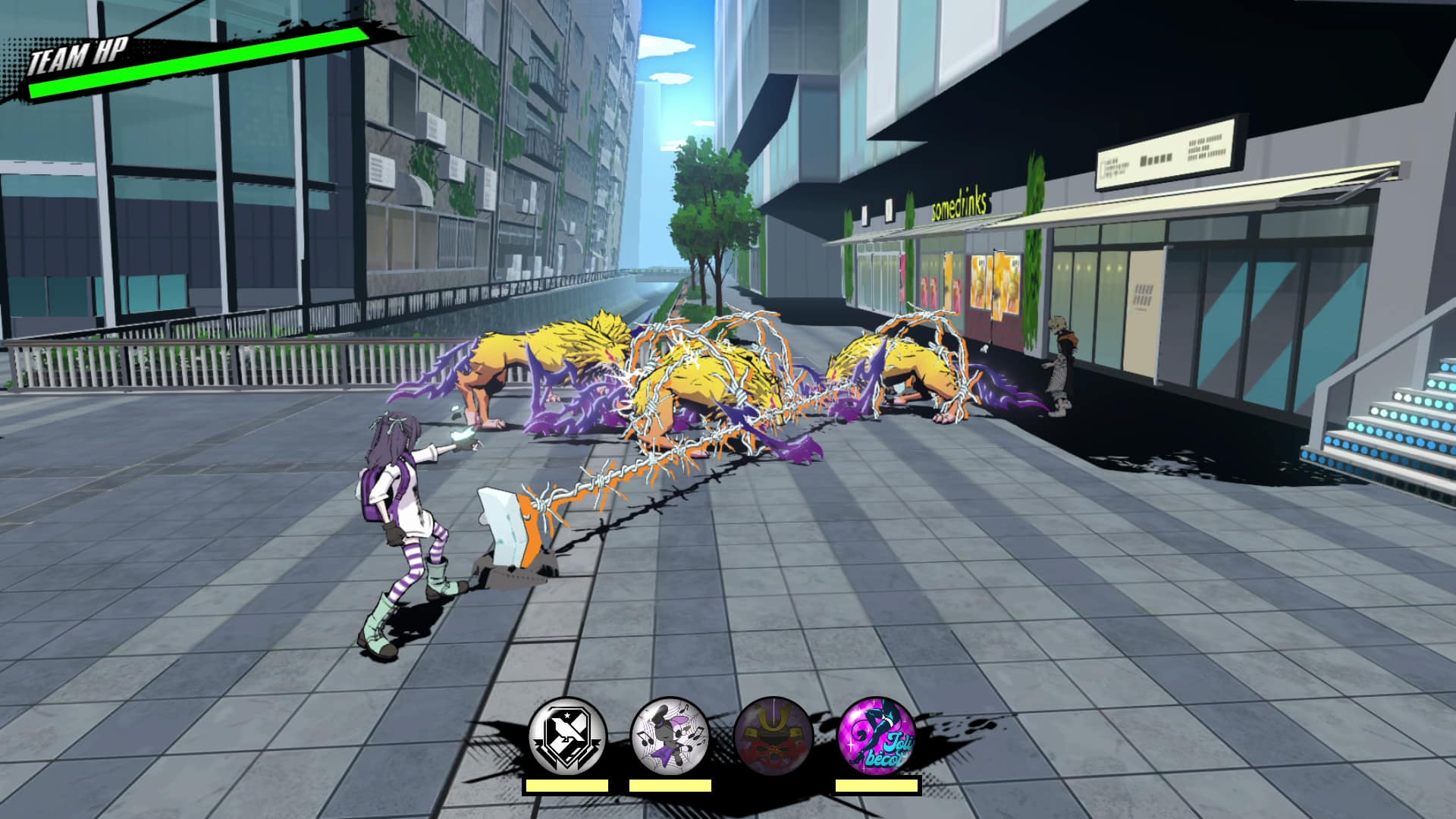 NEO: The World Ends With You Nagi Combat