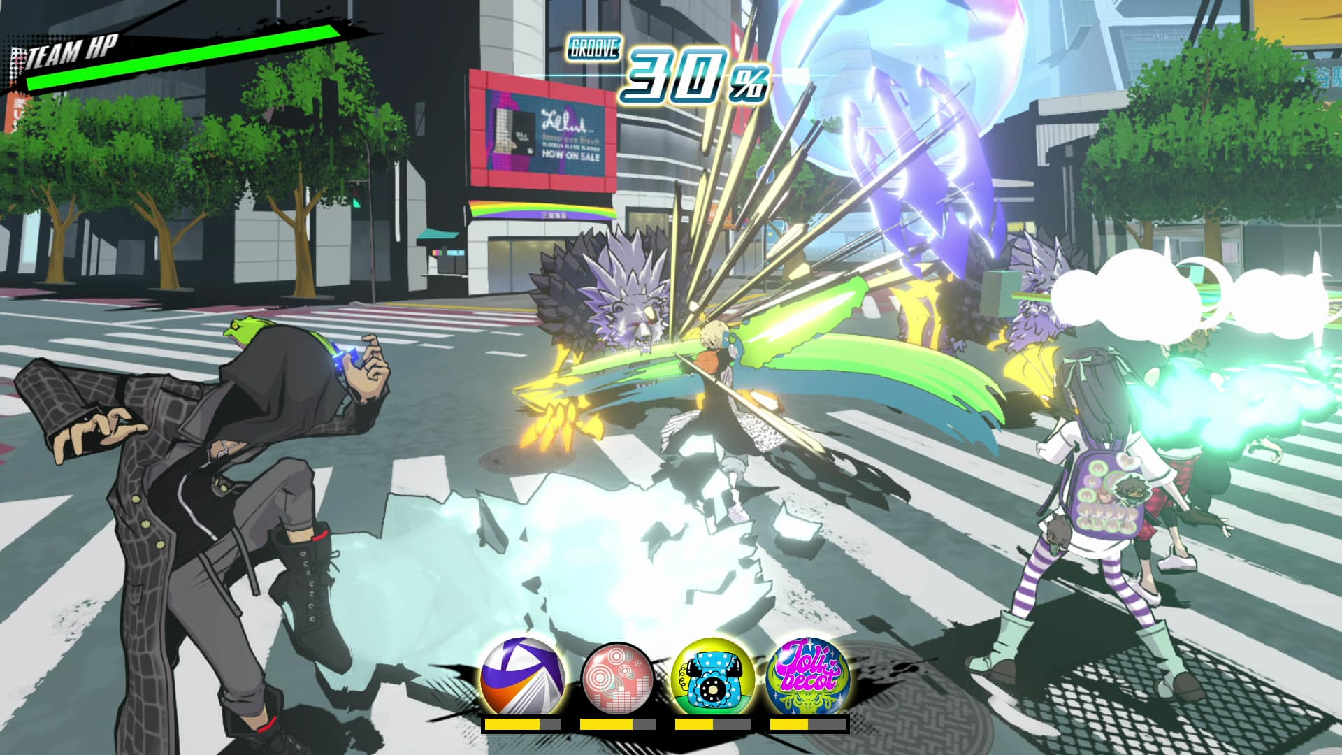 NEO: The World Ends With You Sho Combat