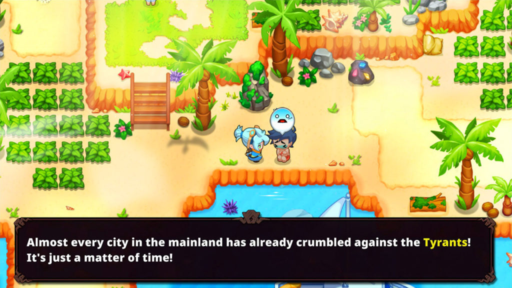 A screenshot of Nexomon Extinction