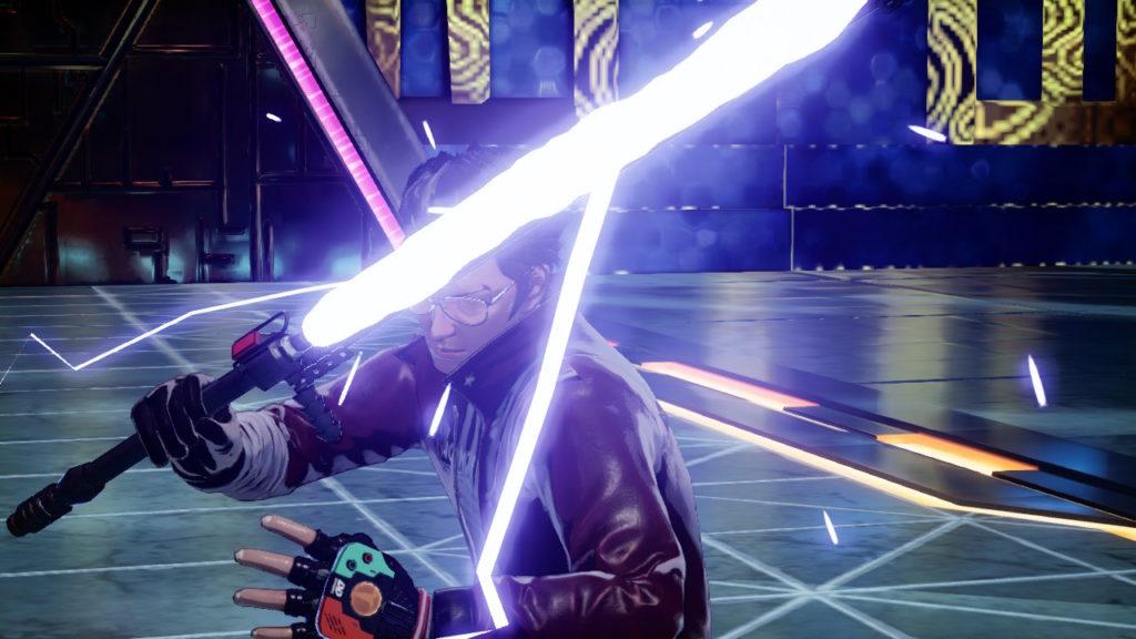 A screenshot of No More Heroes III