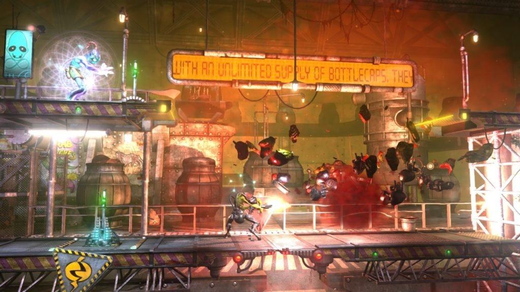 A screenshot of Oddworld New 'n' Tasty