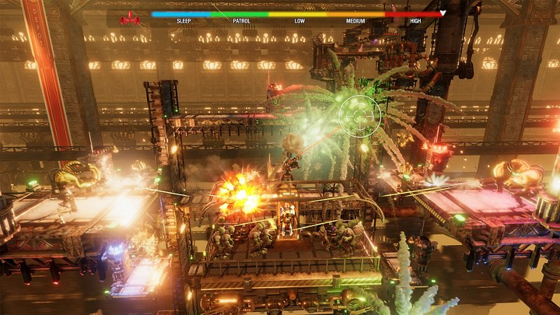 A screenshot of Oddworld Soulstorm