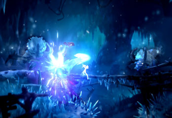 A screenshot of Ori and the Will of the Wisps