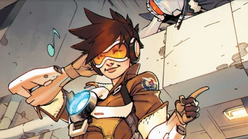 Overwatch Comic Tracer