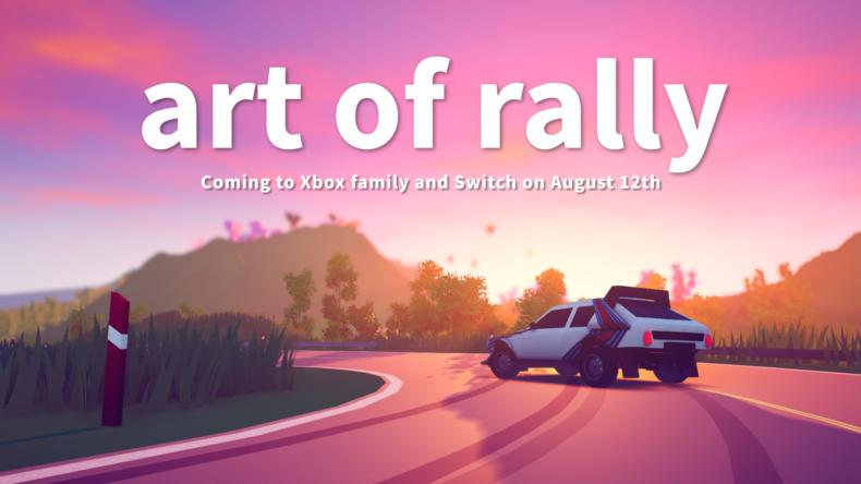 art of rally Xbox