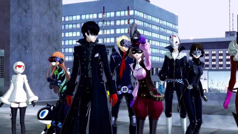 Persona 5 Strikers Combat Gameplay News