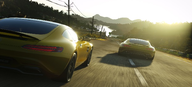 New Mercedes-AMG GT Launches Exclusively in Driveclub