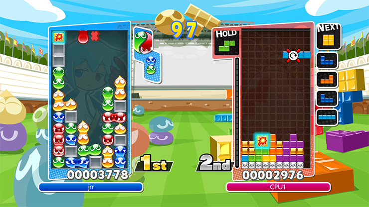 Puyo Puyo Tetris heads Westward on PlayStation 4 and Switch