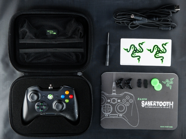 Razer Sabertooth Controller for Xbox 360 and PC Review