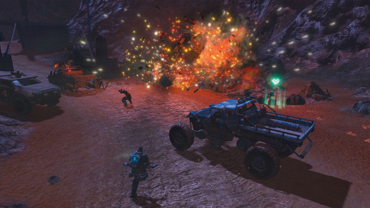 Sacrifice, Red Faction: Guerrilla Re-MARS-tered, Blazing Chrome A