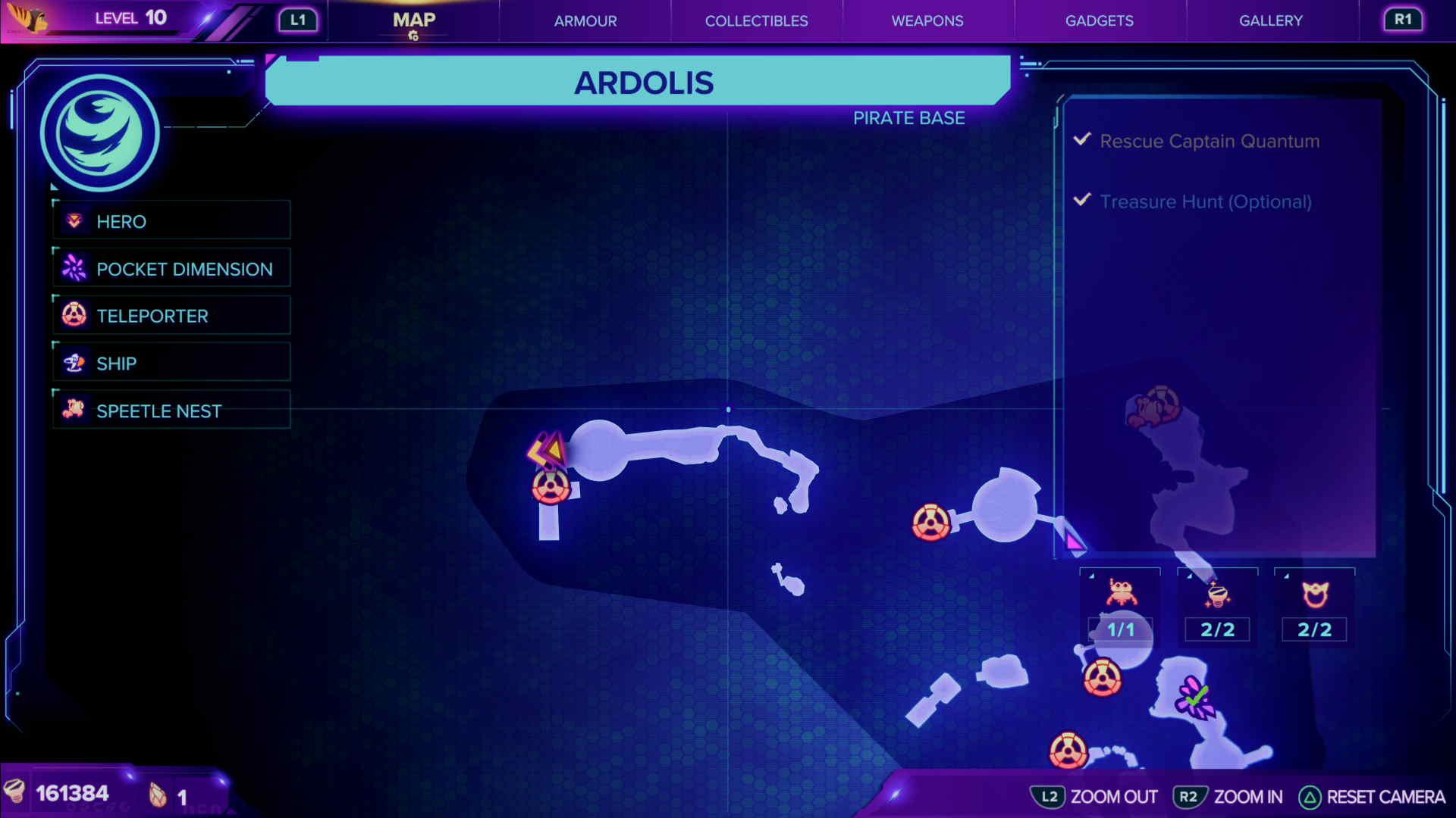 CraiggerBear 8: Ardolis map