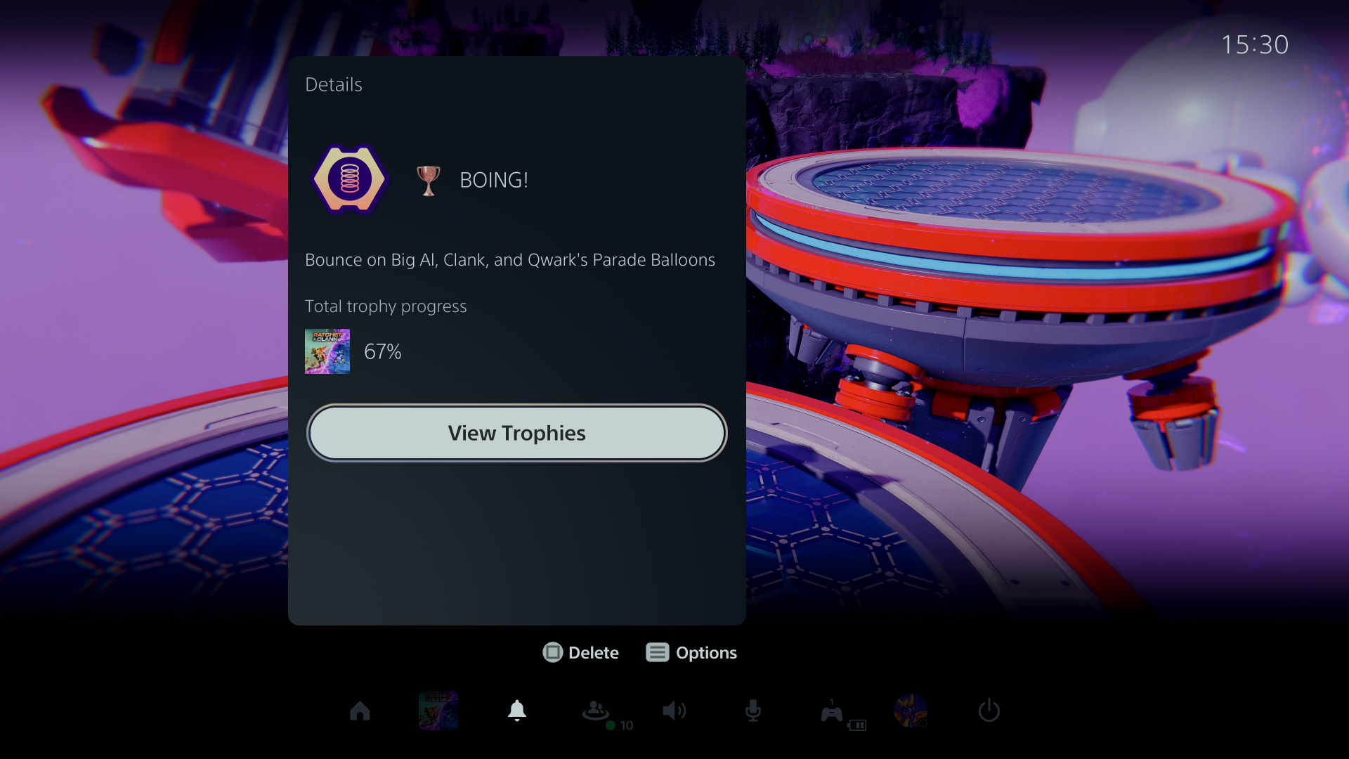 """What is the """"Boing"""" trophy in Ratchet & Clank: Rift Apart?"""