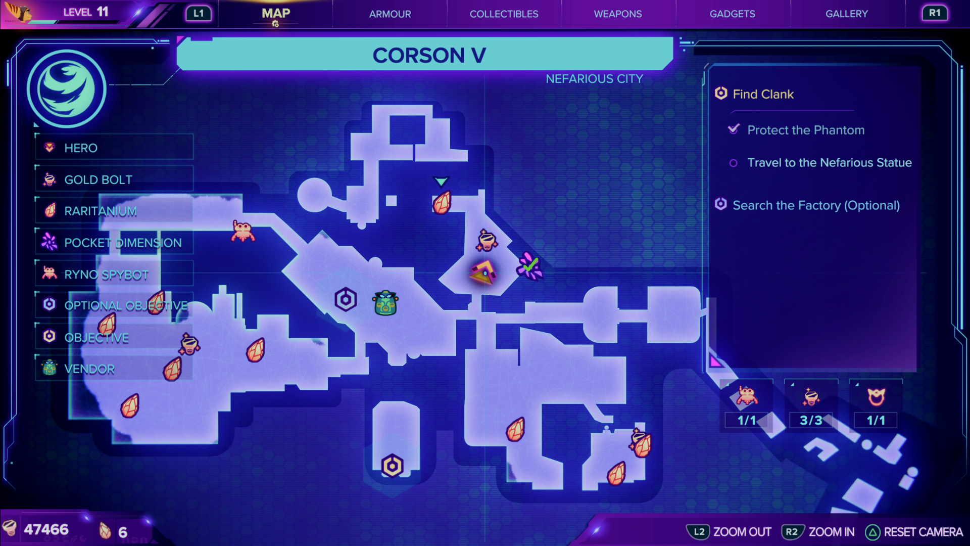 Ratchet & Clank: Rift Apart | CraiggerBear Corson V map