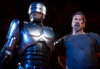 Mortal Kombat 11 Terminator v RoboCop