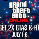 Double GTA$ and RP in GTA Online Through 4 July Weekend