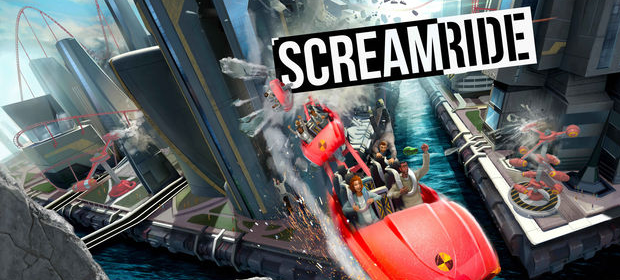scream ride banner