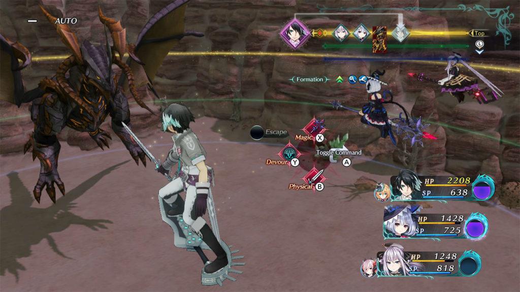 A screenshot of Dragon Star Varnir