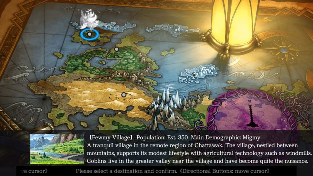 A screenshot of Saviours of Sapphire Wings