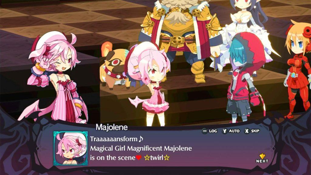 A screenshot of Disgaea 6