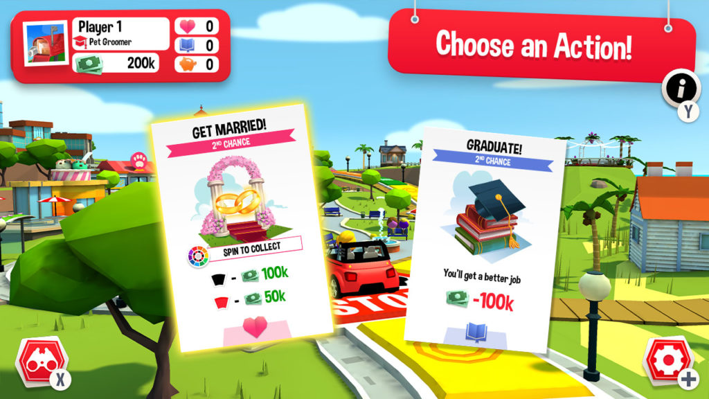 A screenshot of The Game of Life 2