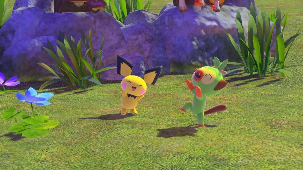 A screenshot of New Pokemon Snap