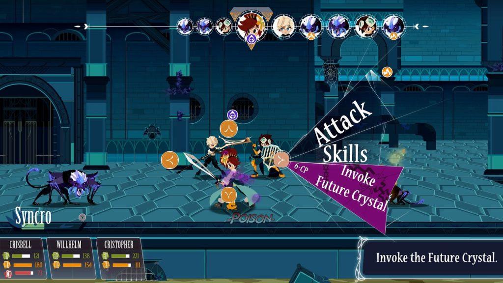 A screenshot of Cris Tales