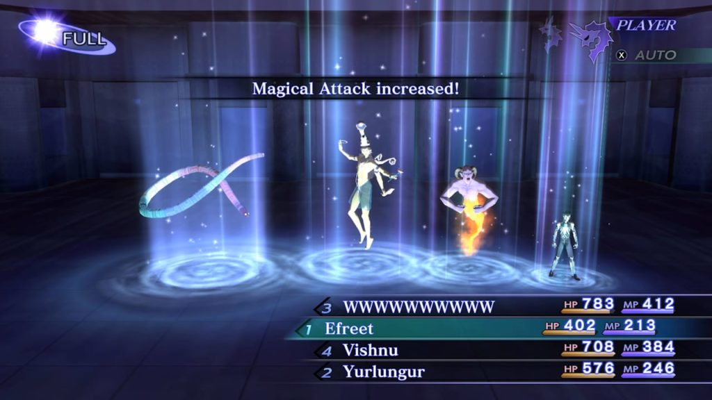 A screenshot of Shin Megami Tensei III Nocturne HD Remaster