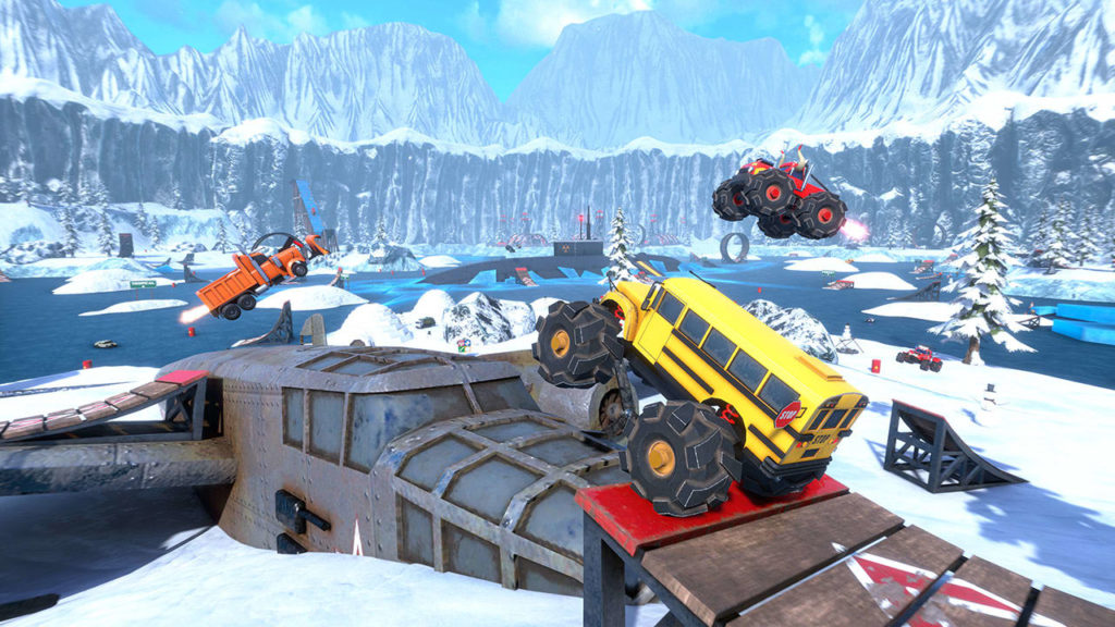 A screenshot of Crash Drive 3