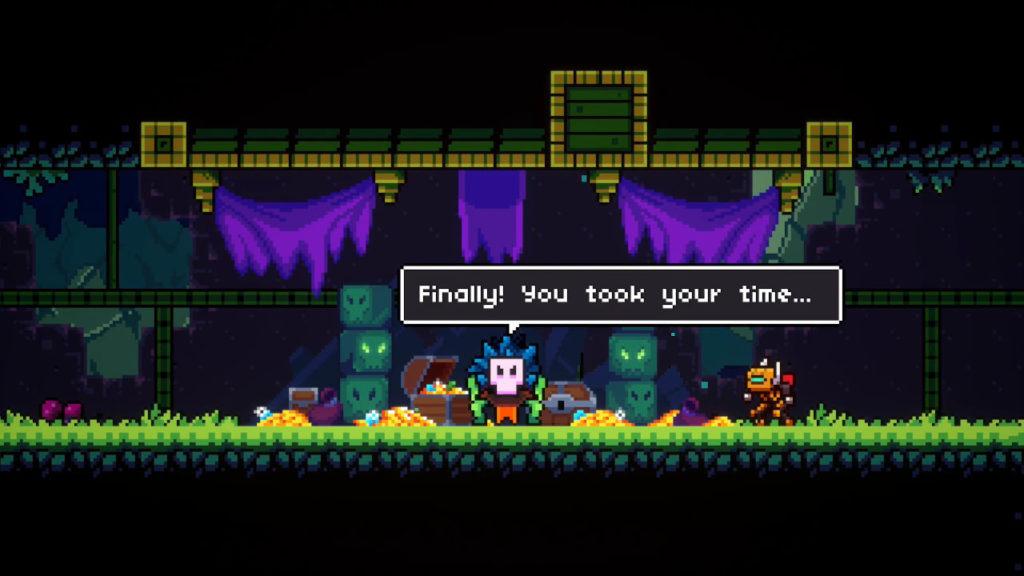 A screenshot of Super Magbot