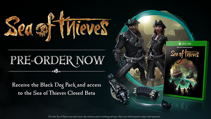 Sea of Thieves gets a closed beta from January 24 until 28