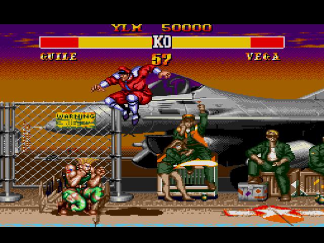 Street-Fighter-II-Guile-vs-M-Bison/Vega