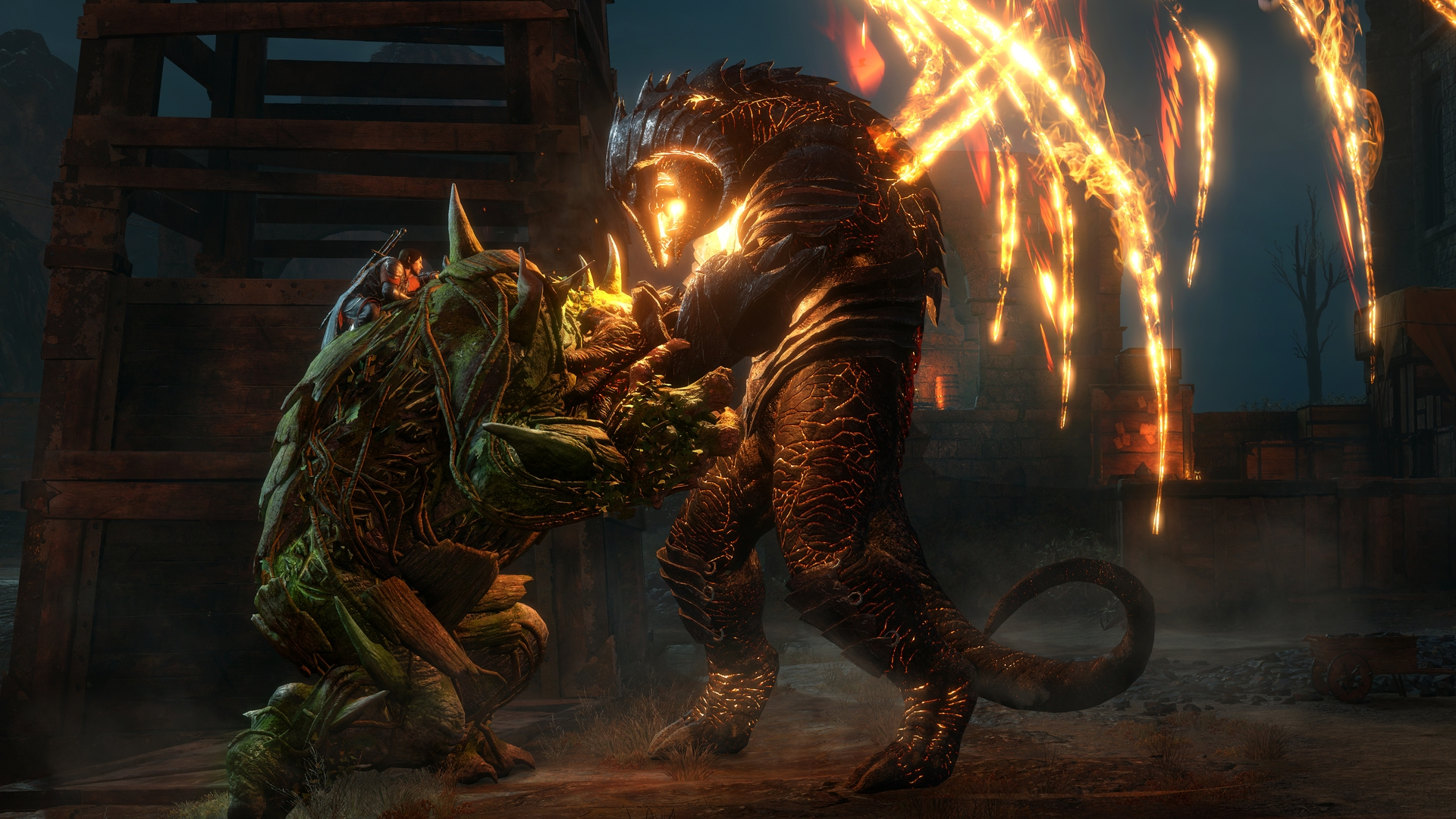 The Scale Of Battle In Shadow Of War Is Both Staggering And Unpredictable In The Best Possible Way Godisageek Com