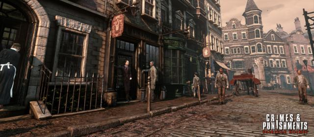 Screenshots Show Change of Engine in Upcoming Sherlock Title, Crimes and Punishments