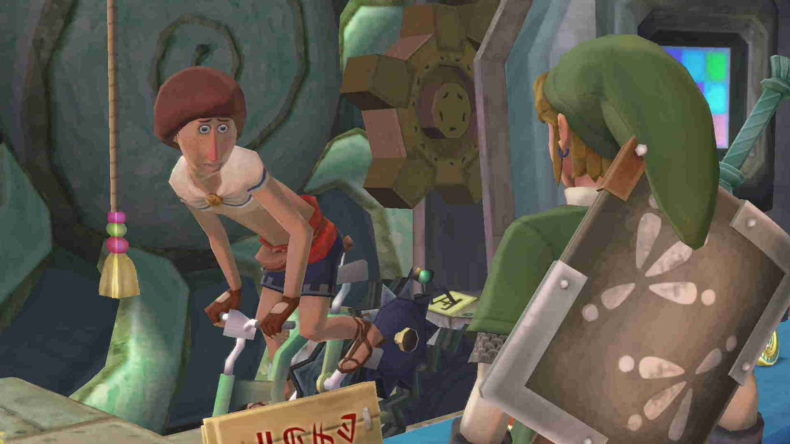 Skyward Sword HD   How to find and enter Beedle's airshop