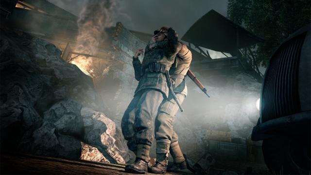 Sniper Elite V2 Interview Screenshot