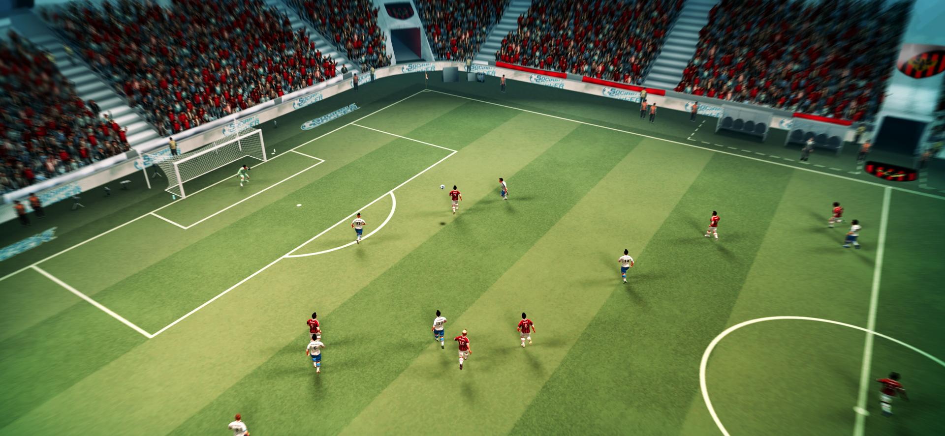 Sociable Soccer, now on Apple Arcade